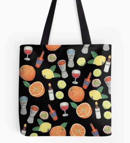 Partytime_black Tote Bag