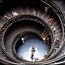 Vatican's stairs by Jean  Malnory