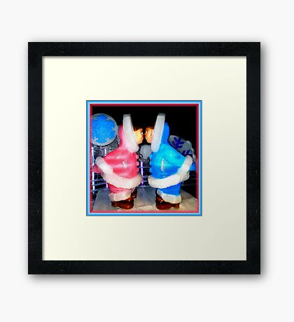 ICE Fell In Florida ! ~ Part One Framed Print