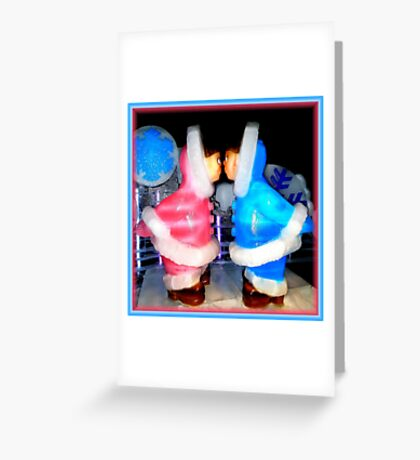 ICE Fell In Florida ! ~ Part One Greeting Card