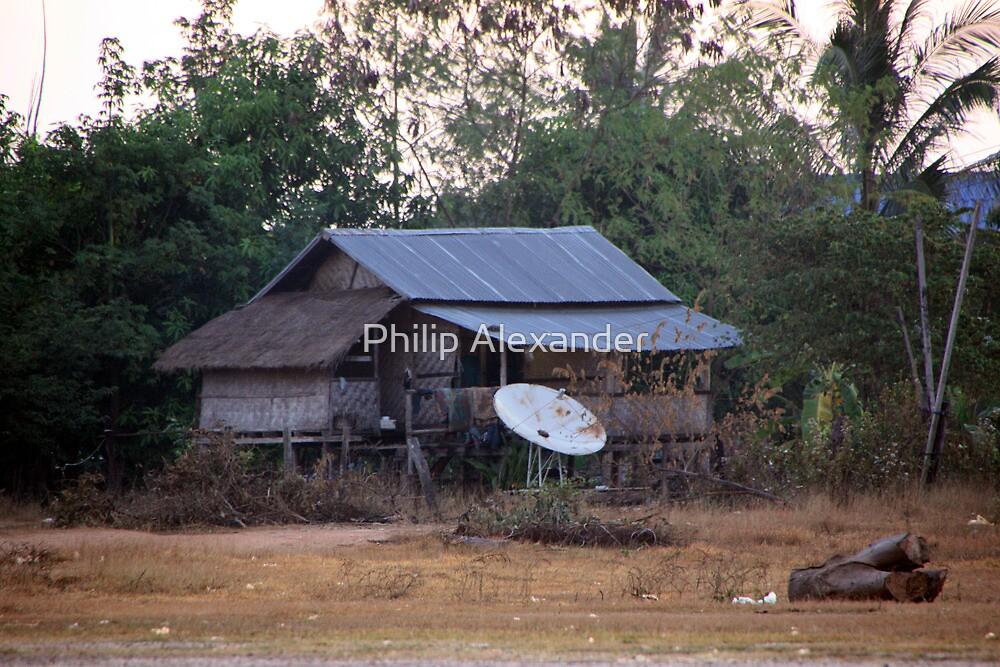 At least it has satellite tv! by Philip Alexander