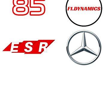 F1.Dynamics Racer Shirt by F1Dynamics