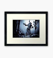 Troll Strolling On Moonlight Framed Print