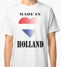 Camiseta clásica Hecho en Holanda