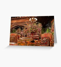 "Philadelphia Flower Show ""Springtime in Paris"". Greeting Card"