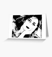 odalisca  Greeting Card