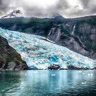 Portage Gletscher - Alaska von Kathy Weaver