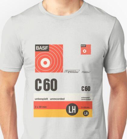 Classic Music Cassettes - BASF C60 T-Shirt