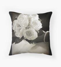 The Bride Throw Pillow
