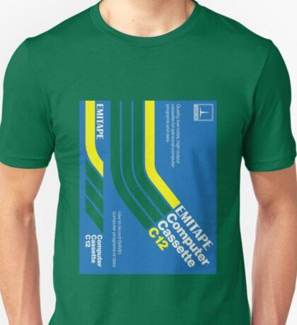 Classic Data Cassettes - EMITAPE C12 T-Shirt