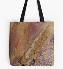 Abstract by M.Nature, Footprints by Man Tote Bag