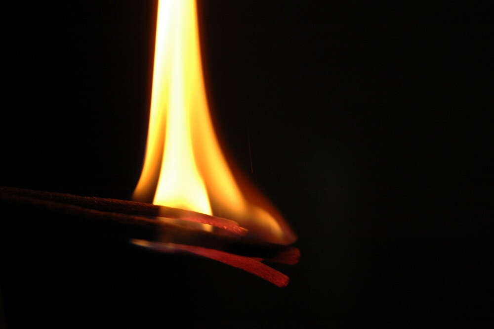 yellow flame by pugazhraj
