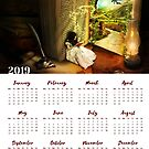 CALENDAR 2019 The Book Of Secrets by Donika Nikova
