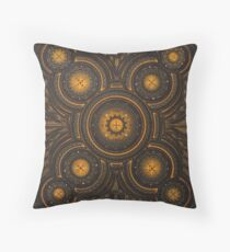 Mechanical cycle Throw Pillow
