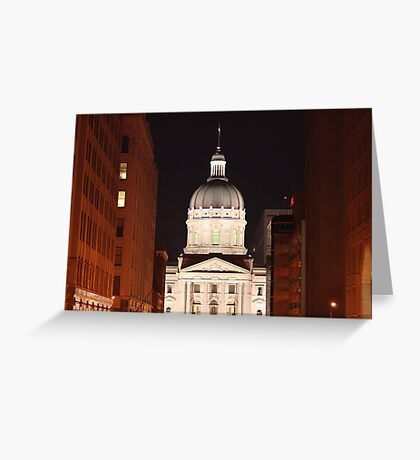 The Night Capital Greeting Card