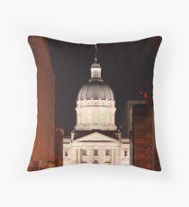 The Night Capital Throw Pillow