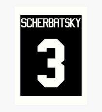 SCHERBATSKY Kunstdruck