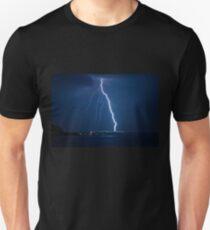 Storm , lighting Slim Fit T-Shirt