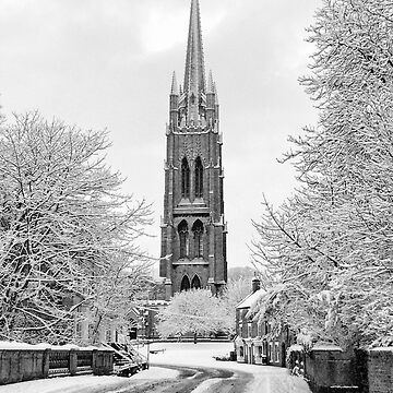 Louth Spire Portrait by tommysphotos