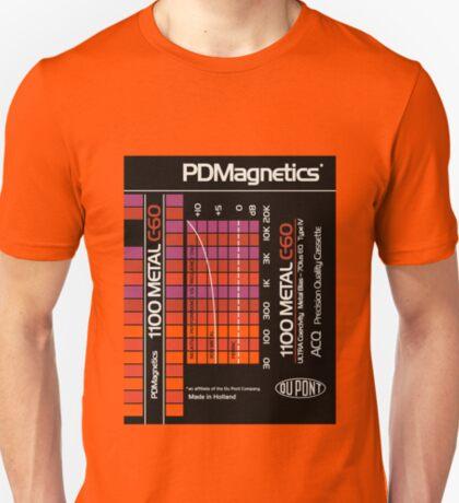 Classic Music Cassettes - Dupont PDMagnetics C60 T-Shirt