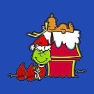 How the Charlie Grinch Stole Christmas by robotghost
