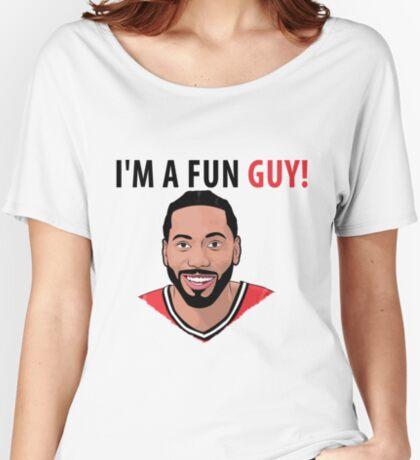 I'm a fun guy! [Kawhi Edition] Women's Relaxed Fit T-Shirt