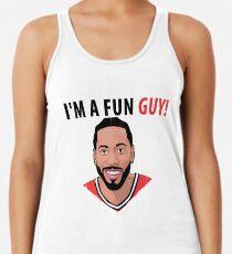 Camiseta con espalda nadadora Soy un chico divertido! [Edición Kawhi]