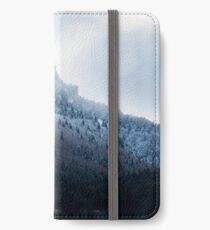Première neige en Chartreuse Étui portefeuille/coque/skin iPhone