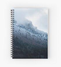 Première neige en Chartreuse Cahier à spirale
