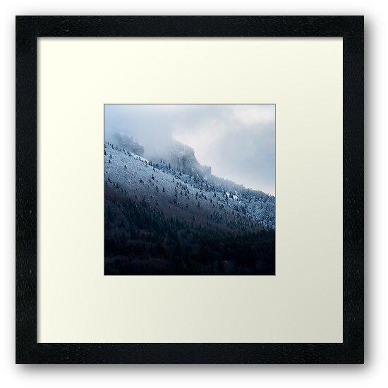 « Première neige en Chartreuse » par Patrice Mestari