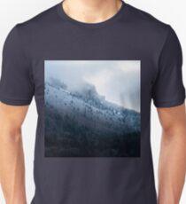 Première neige en Chartreuse T-shirt unisexe