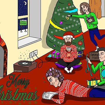 DB CHRISTMAS  by alwaysdun