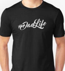 Cooles Geschenk des Vaters #Dadlife Unisex T-Shirt