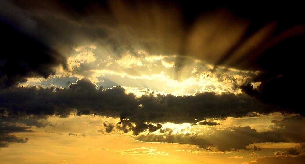 Holy Cloud Sunset by kiwiguy