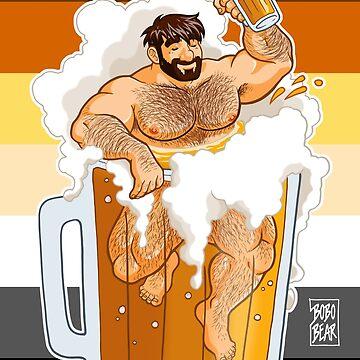 ADAM LIKES A BIG BEER by bobobear
