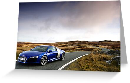 The Audi R8 V 10 .... by M-Pics