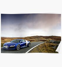 The Audi R8 V 10 .... Poster