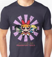 Powerpuff Girls Retro Japanese Unisex T-Shirt