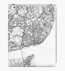 Lisbon map poster print wall art, Portugal gift printable, Home and Nursery, Modern map decor for office, Map Art, Map Gifts iPad Case/Skin