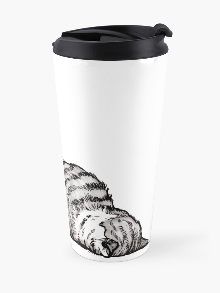 Alternate view of Mondays Travel Mug