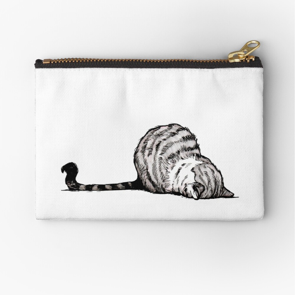 Mondays Zipper Pouch