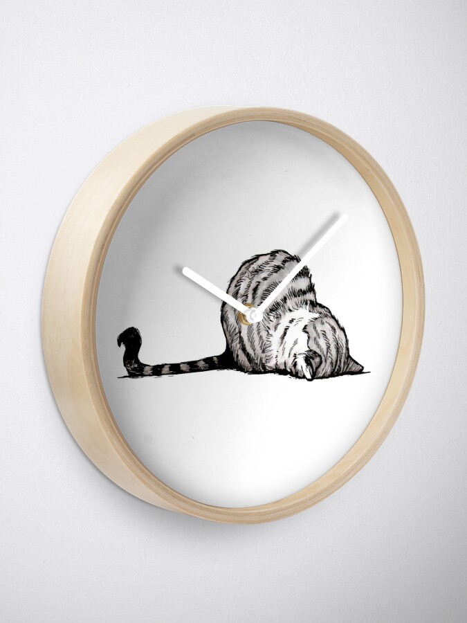 Alternate view of Mondays Clock