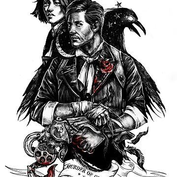 Murder of crows by JustAnor