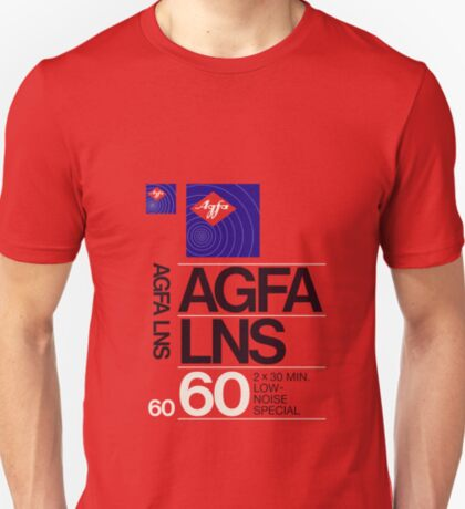 Classic Music Cassettes - Agfa LNS 60 T-Shirt