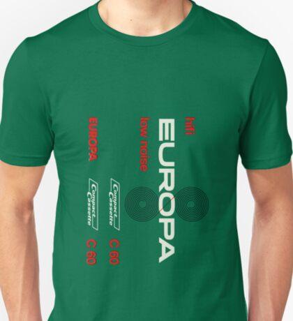 Classic Music Cassettes - Europa C60 T-Shirt