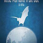 Little Mariana fruit bat/Guam flying fox - extinct animals by Moira Risen