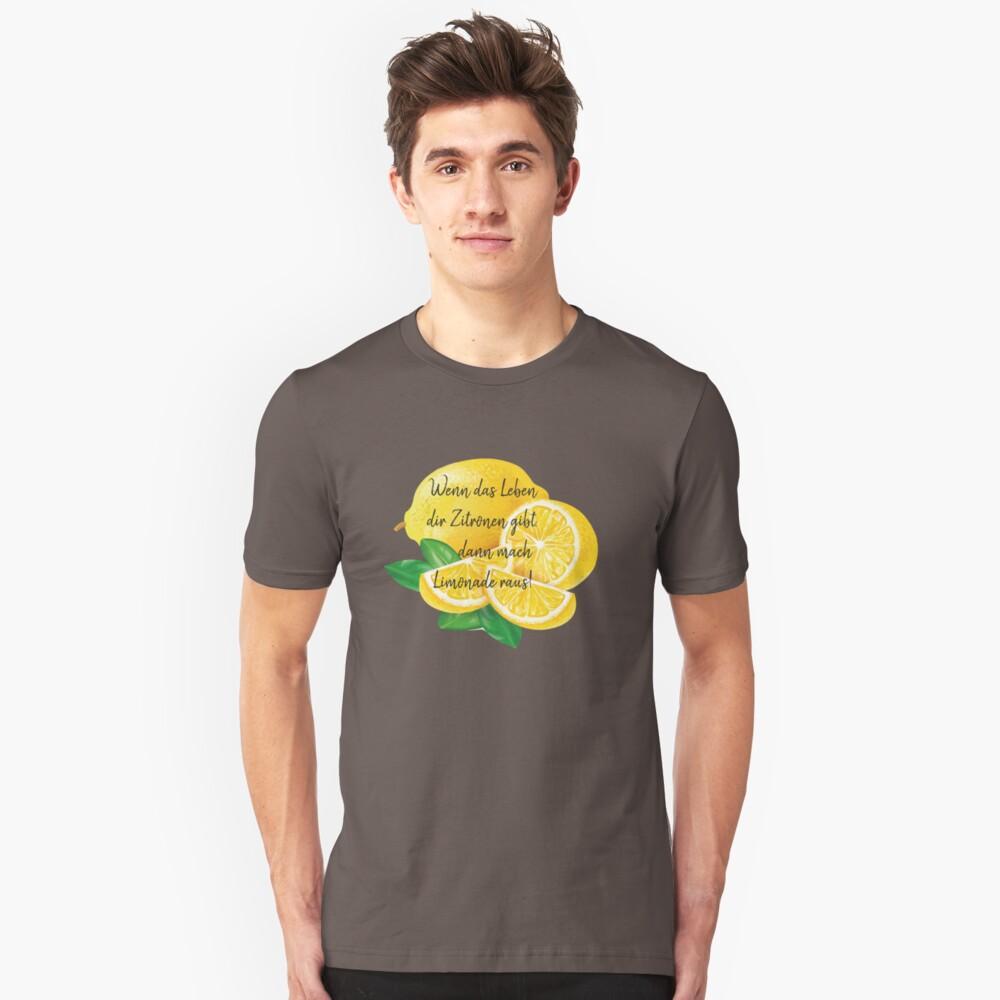 Zitronen Slim Fit T-Shirt
