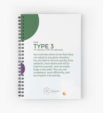 Cuaderno de espiral Eneagrama tipo 3 - Agradecido por ti