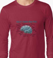 Nursing Student Humor Brain Long Sleeve T-Shirt