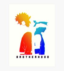 Brotherhood - Naruto Art Print